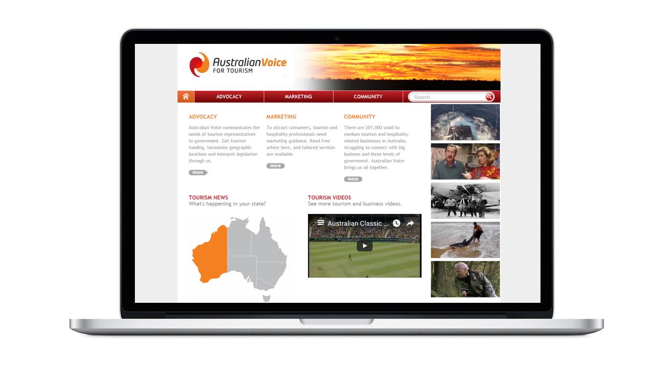 australian voice for tourism